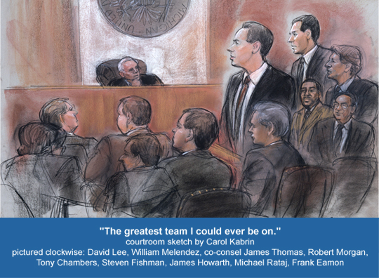 Courtroom Sketch